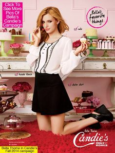 Bella Thorne Candie's Campaign