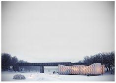 OS31 Designs Pop-Up Restaurant on a Frozen River