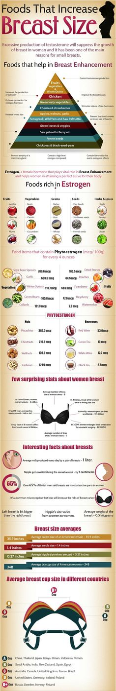 Foods that Increase Breast Size Info. stay healthy and Fit .