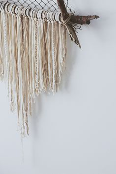 dream catcher -- this would be awesome for displaying jewelry!