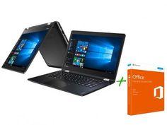 Notebook 2 em 1 Lenovo Yoga 510 Intel Core i7 - 8GB 1TB + Office Home and Student 2016 com as melhores condições você encontra no Magazine Jc79. Confira!