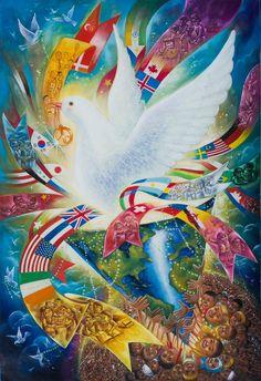 Barış temalı için 19 fikir   barış, çizimler, çizim