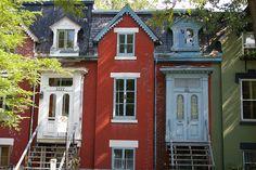 quartier de la petite bourgogne à montréal by Simon Bonaventure, via Flickr