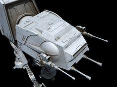 Imperial Walker, At At Walker, Lucas Arts, Star Wars Models, Star Wars Images, Original Trilogy, Star Wars Ships, Planets, Concept Art