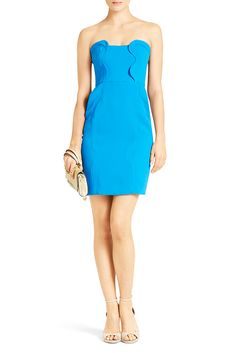 Sahara Strapless Dress | DVF