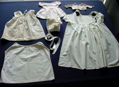 Lot of Antique Doll Clothes 18801930 by chalcroft on Etsy, $22.00