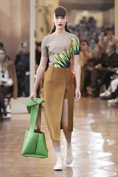 Acne Studios Women's Spring/Summer 2016 show at Paris Fashion Week. #AcneStudiosSS16 #SS16 #PFW #ParisFashionWeek