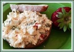 Mystery Lovers' Kitchen: Out-of-the-Doghouse Egg Salad from author @LucyBurdette #recipe MURDER WITH GANACHE