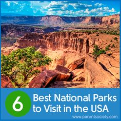 Best National Parks to Visit in the USA #family #kids #travel