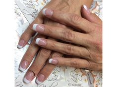 Pink & White French by fudog from Nail Art Gallery French Nails, French Manicures, Top Nail, Nail Art Galleries, Nails Magazine, Nail Tech, Gel Polish, Pink White, Art Gallery