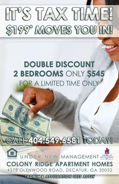 apartment marketing flyer design