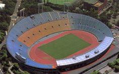El Estadio Olímpico de Seul tiene capacidad para 69.841 espectadores. Diseñado por Kim Geun Swoo
