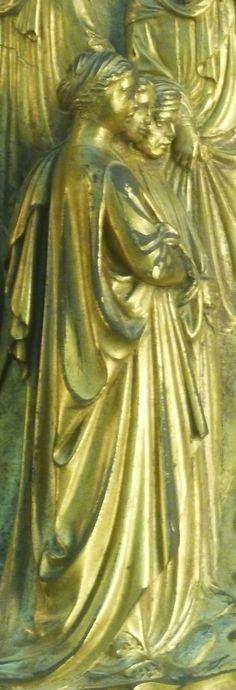 ghiberti Florence Baptistery, Lorenzo Ghiberti, Italian Renaissance, Firenze, Italian Artist, Michelangelo, Mood Boards, Italy, Painting