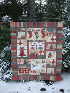 Quilting: The Night Before Christmas