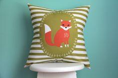 Woodland Fox Pillow Cover