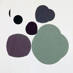 Ohne Titel, 1946. Ölfarben auf Leinwand; sammlung c+j bill. © Nachlass Verena Loewensberg, Henriette Coray Loewensberg, Zürich