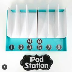 Check out how Core Inspiration | Teaching Tips & Classroom Ideas organizes her classroom iPads. She uses a poppin desk organizer. How do you store your iPads in your classroom? #earlycorelearning