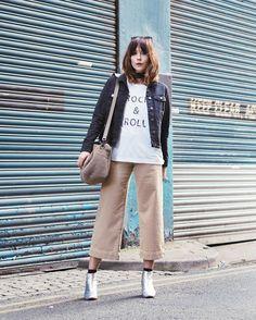 Dorothy Perkins denim jacket as seen on fashion blogger Megan Ellaby.