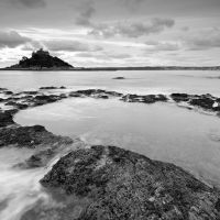Mount's Bay Landscape Photography, Dan, Coastal, Black And White, Gallery, Water, Outdoor, Gripe Water, Outdoors