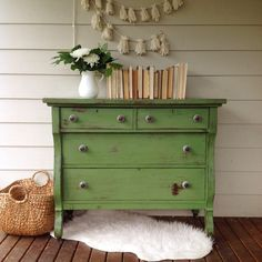 Visit the post for more. Green Painted Furniture, Chalk Paint Furniture, Funky Furniture, Upcycled Furniture, Furniture Makeover, Porch Table, Empire Furniture, Green Rooms, Furniture Inspiration