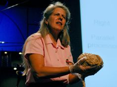 Jill Bolte Taylor: My stroke of insight via TED. The very first TED talk I ever watched and now I'm addicted. Most Popular Ted Talks, Best Ted Talks, Ted Videos, Right Brain, Conscience, Brain Injury, Insight, Interview, All About Time