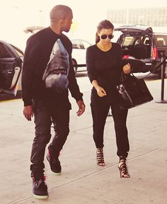 Her outfit is everything, I wish he wasn't in the pic lol