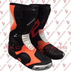 Repsol Motorbike Racing Leathers Boots Available in All Sizes #RacingWears