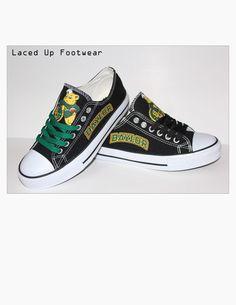 Baylor Sailor Bear Converse-style tennis shoes