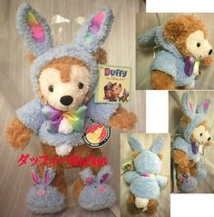 2011 Easter Bunny Rabbit Duffy America Limited rabbit (japan import) by Duffy stuffed system & Collectibles http://www.easterdepot.com/2011-easter-bunny-rabbit-duffy-america-limited-rabbit-japan-import-by-duffy-stuffed-system-collectibles/ #easter  Duffy 2011 Easter Bunny costume that has been limited release in the United States, It is the specifications that can not be putting on and taking off the costume. (Seems are marked sewing) 2011 Easter Bunny Rabbit Duffy America Limited ra..