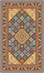 Resultado de imagen para punto cruz patrones alfombras