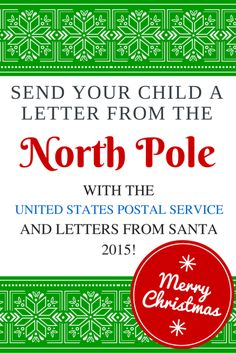 Free printable north pole gift tags free printable christmas 2015 letters from santa with usps send your child a letter from santa at the north pole negle Choice Image