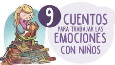 Trabajamos la inteligencia emocional con niños a través de nueve libros de emociones. Cuentos ideales para la psicología y el desarrollo emocional.
