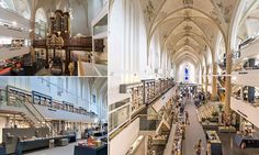 15th Century cathedral is transformed into a book shop! | Broerenkerk, a 15th century Dominican church in Zwolle, Netherlands, is now known as Waanders in de Broeren. | I'm drooling.