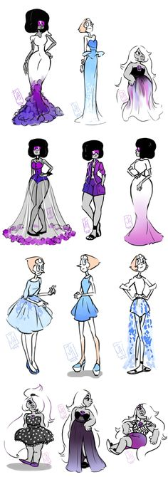 More Classy Gems.~ Now we need classy Steven in a dress!                                                                                                                                                     Más