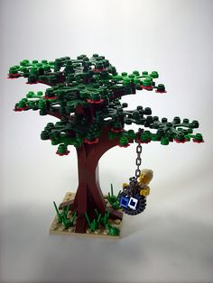 Looks like fun Lego Design, Modular Design, Modele Lego, Lego Tree, Lego Winter Village, Lego City Sets, Lego For Kids, Lego Modular, Cool Lego Creations