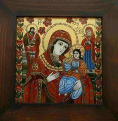 Vand Icoane pe sticla Poza House Of Gold, Biblical Art, Madonna And Child, Religious Icons, Orthodox Icons, Sacred Art, Mystic, Folk, Marvel