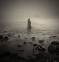 a single moment/before the call, that drew you to the sea/a single fragment/of a loss that's buried deep in memory