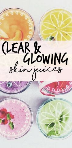 This juice recipe has SAVED MY SKIN! If your skin is in need of a good detox make sure you try this recipe out!