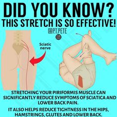 11 dynamic stretching exercises to aid in massaging hard-to-reach muscles for immediate relief Sciatica Symptoms, Sciatica Exercises, Back Pain Exercises, Hip Stretching Exercises, Best Lower Back Stretches, Knee Strengthening Exercises, Daily Stretches, Hip Flexor Exercises, Everyday Stretches