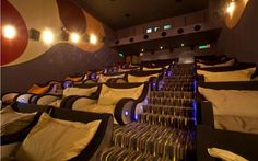 cuddle friendly theater.
