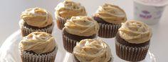 Moka cupcakes με γιαούρτι Total