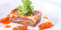 In this twist on a classic lasagne recipe, Russell Brown uses pork cheeks cooked sous vide combined with aniseed flavours for a rich evening...