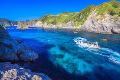 セブ島?いいえ伊豆です!屈指の透明度を誇る秘境「ヒリゾ浜」の海が超美しい 1枚目の画像