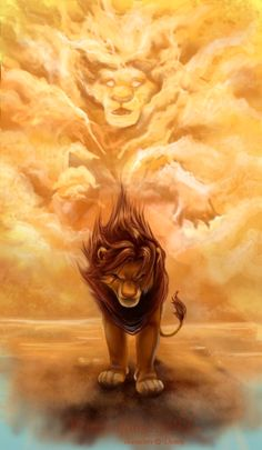 Lion King by Wings of A Butterfly