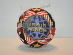 US Air Force Patriotic Ornament  Soldiers by craftcrazy4u on Etsy, $12.00