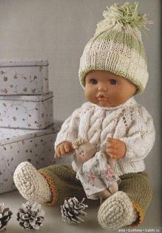 Вязанный костюм для пупсика, мк / Вязание для кукол / Бэйбики. Куклы фото. Одежда для кукол Вязаные Куклы, Образцы Одежды Для Кукол, Связаные Крючком Куклы, Образцы Узоров Для Кукол, Baby Knitting Patterns, Детские Узоры, Тела, Шаблоны, Связаная Крючком Кукольная Одежда