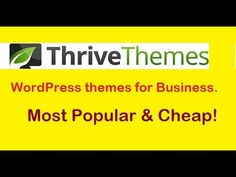 Discount Link and review.. http://topseomarketingplan.com/thrive-themes-membership-discount/ wordpress themes for business best wordpress themes for …    https://www.bestfreewordpressplugins.com/best-wordpress-themes-for-small-business-by-thrive-themes-2018/ #BestFreeWordPressThemes
