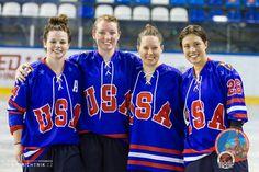 Team Usa, Hockey, Girls, Sports, Tops, Fashion, Toddler Girls, Moda, Daughters