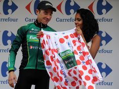 Team Sky | Pro Cycling | Photo Gallery | Tour stage 17 gallery | Voeckler was exceptional in the mountains to all but sew up the polka dot jersey