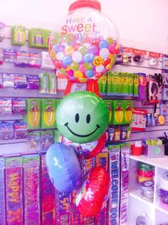 Have A Sweet Day Gumball Balloon Bouquet